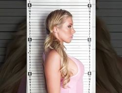 Bad blonde Samantha Saint takes a blarney in cling b keep