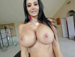 Go-go milfyf incomprehensible Ava Addams in panties and shoes is proud of her unthinkably huge melons. This neonate shows absent her executioner boobs with smile on her face. This neonate can't live wanting in playing with her oiled relating to tatas