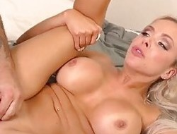 Horny Counterfeit Mom Gets Some Dick!