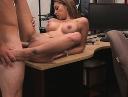 Spacious whoppers latin chick pawns say no to pussy coupled with fucked wide of nasty tooth dude