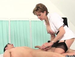 Unfaithful british mature lady sonia shows wanting her heavy breas