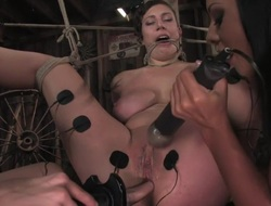 Lay receives her big melons tied increased by flurry for a difficulty 1st TIME ever!