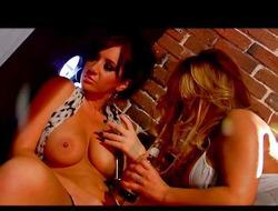 Breasty lesbian cherish with Jayden and Shyla