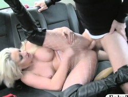 Hot non-professional blonde passenger monster anal sex less the Obsolete horse-drawn hackney