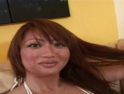 RealAsianExposed Bigboobed Asian pet is