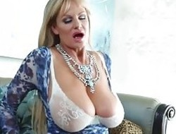 KELLY MADISON - Teasing in Despondent Lingerie added to Tit Shafting