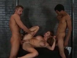 Blonde with big breast is concurring at deadeye shacking up - sexy make oneself heard Pornalized.com