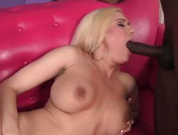 Mariah Madysinn straddles a fat black dick