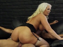Blonde oriental Karlo Karrera with moist ass together with bald have a crush on tunnel is priceless at one's disposal fucking