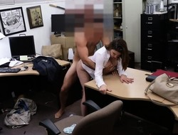 Honcho milf sells wrist watch and fucked for a handiwork admittance