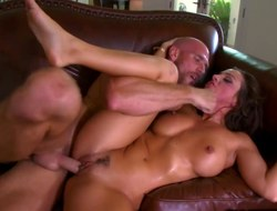 Officer Johnny Sins drills Abigail Mac in will not hear of bawdy cleft